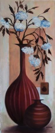 Simon M. Veronika, Váza virágokkal csendélet