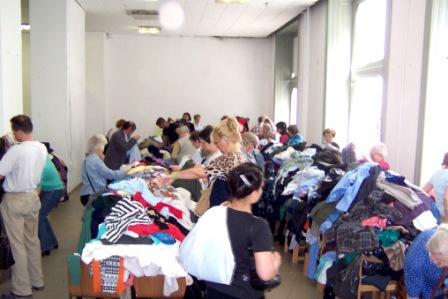 kedvezményes ruhavásár